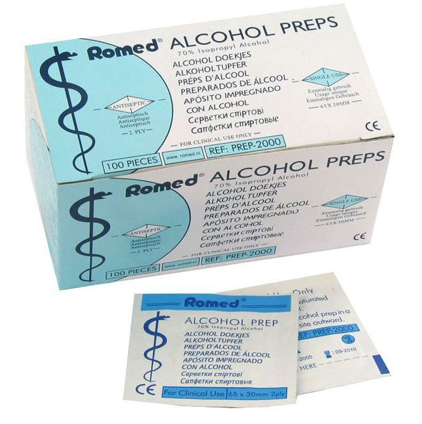 Romed Alcohol Preps